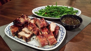 Served with Thai-style Pork Ribs and Jaew dipping sauce