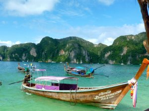The view from Ko Phi Phi